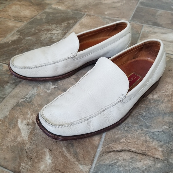 Cole Haan Shoes | Mens White Loafer